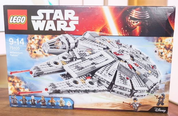 Lego Millennium Falcon sets bought in 2007 for £342 are now fetching nearly £3k on eBay