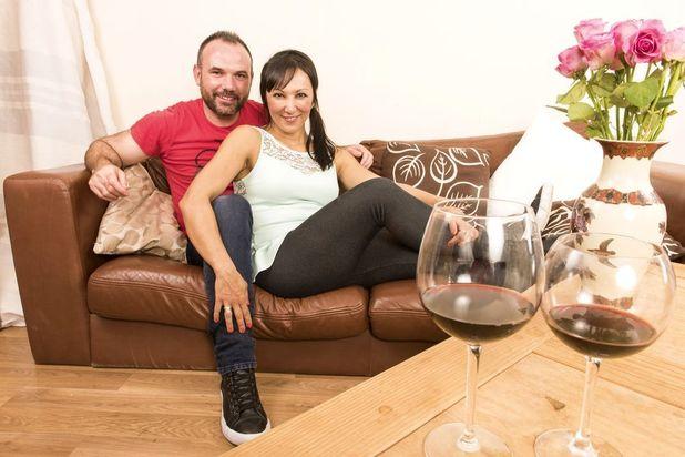 Nilufer and her partner Matt