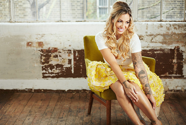 Jodie Marsh: Making Babies - documentary publicity still for TLC