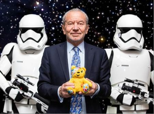 Lord Sugar to star in special Star Wars sketch for Children In Need - 28 October 2015.