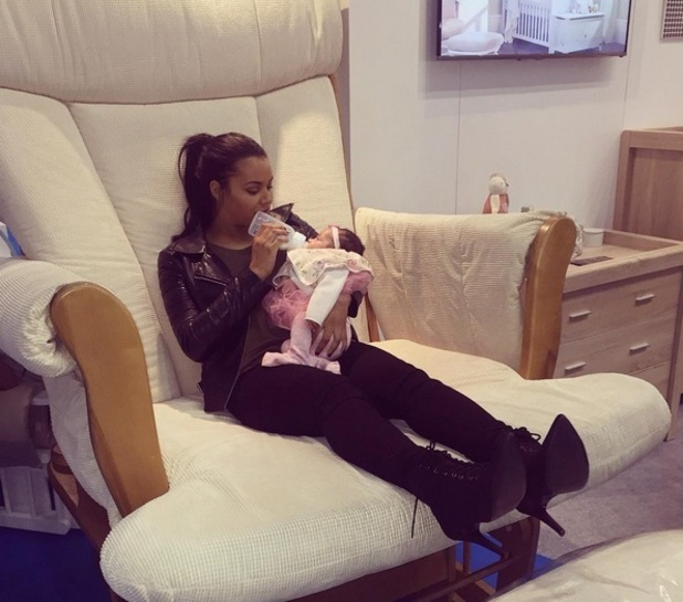 Lateysha Grace and daughter Wynter 26 October