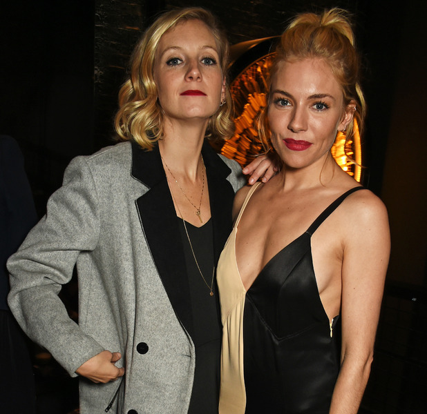 Sienna Miller, Savannah Miller at the Burnt premiere after-party in London, 29th October 2015