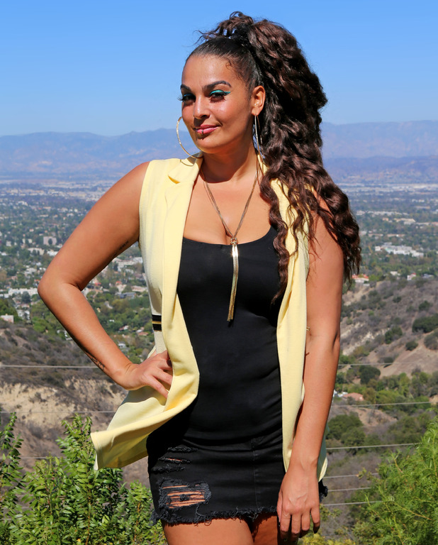 X Factor: Monica Michael at Judges' Houses in Los Angeles.