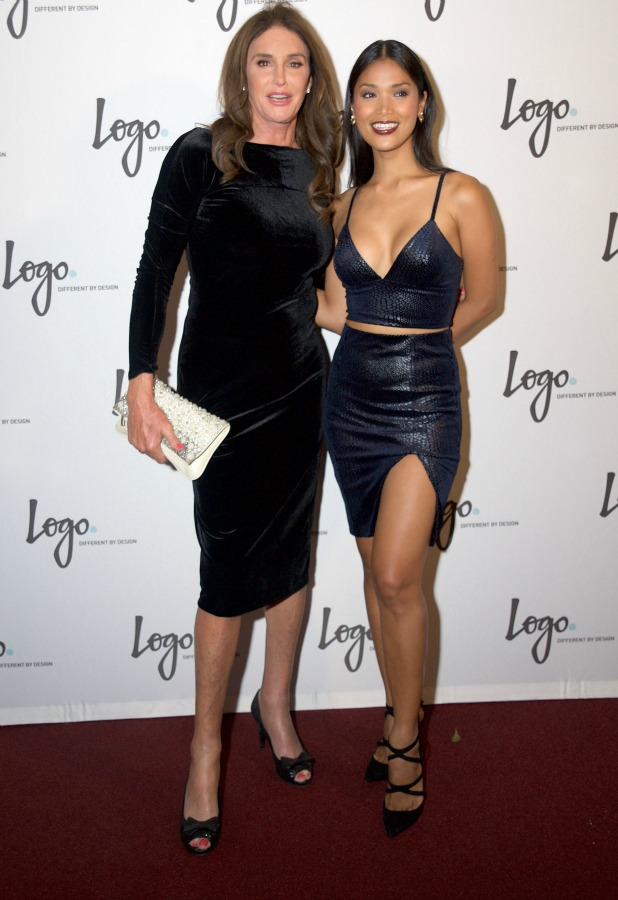 Caitlyn Jenner and Geena Rocero celebrate Jenner's birthday at Logo TV's 'Beautiful As I Want To Be' web series launch party at The Standard Hotel on October 27, 2015 in Los Angeles, California. (Photo by Unique Nicole/WireImage)
