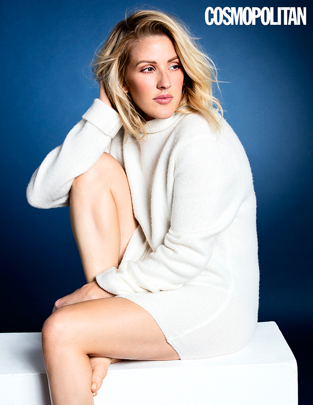 Cosmopolitan's December issue (on-sale 3rd November) has an exclusive interview with Ellie Goulding.