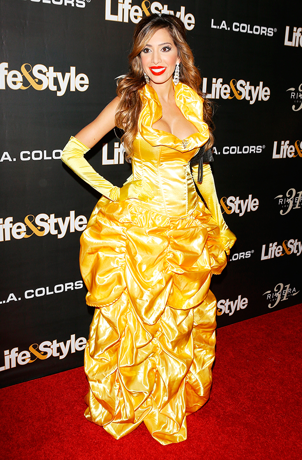 Farrah Abraham arrives at Life & Style Weekly's 'Eye Candy' Halloween Bash held at Riviera 31 at Sofitel on October 29, 2015 in Los Angeles, California. (Photo by Michael Tran/FilmMagic)