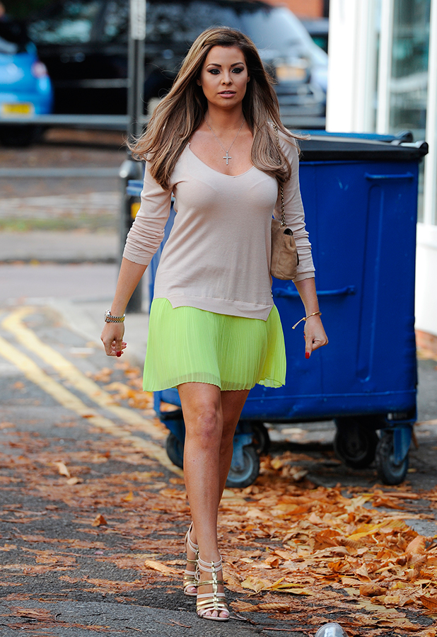 Jessica Wright The cast of 'The Only Way is Essex' film a pie and mash night at Luxe nightclub in Loughton