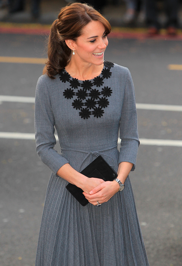Catherine, Duchess of Cambridge meets with Chance UK's children and mentors at Islington Town Hall