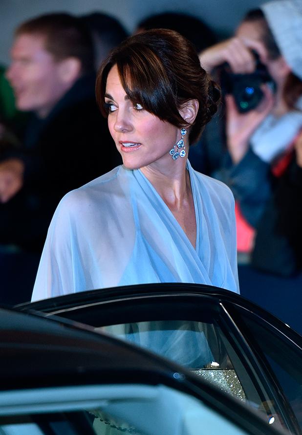 James Bond Spectre World Premiere held at Royal Albert Hall Kate Middleton