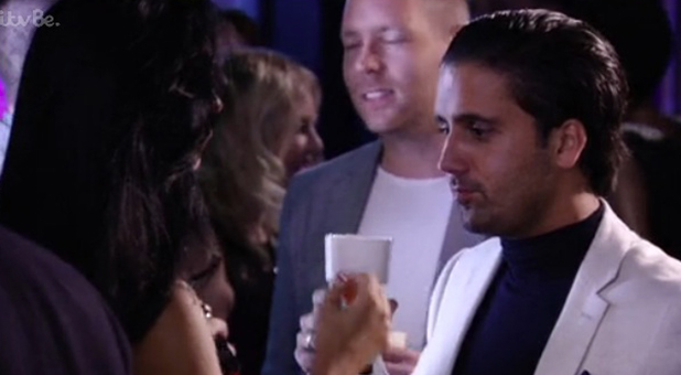 Liam Blackwell on TOWIE, episode 28 Oct 2015