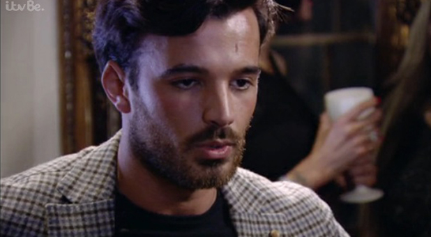 Mike Hassini on TOWIE, episode 28 Oct 2015