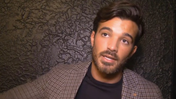 Mike Hassini talks to TOWIE official website 29 Oct 2015