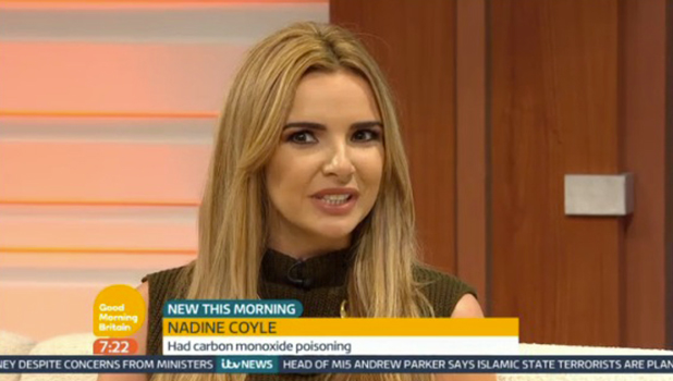 Nadine Coyle talks to GMB, 2015