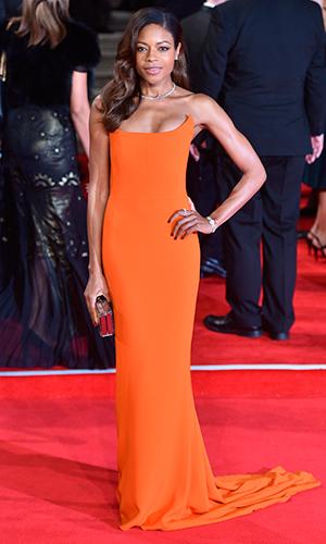 James Bond Spectre World Premiere held at Royal Albert Hall Naomie Harris