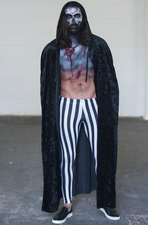 Towie Filming Halloween Party, Essex, Britain - 28 Oct 2015 Peter Wicks