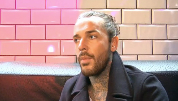 Pete Wicks talks to TOWIE official website 28 Oct 2015