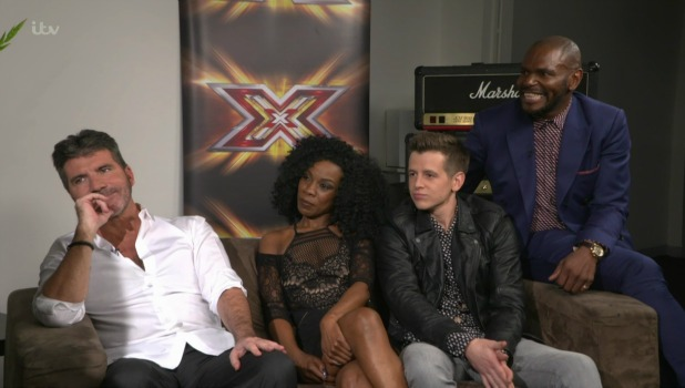 Simon Cowell speaking to 'This Morning' ahead of the live shows stage of 'The X Factor'. Broadcast on ITV1 HD.