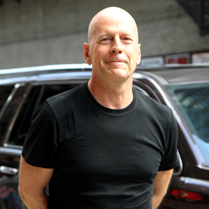 Bruce Willis outside The Ed Sullivan Theater for The Late Show with David Letterman - 18.8.2014.