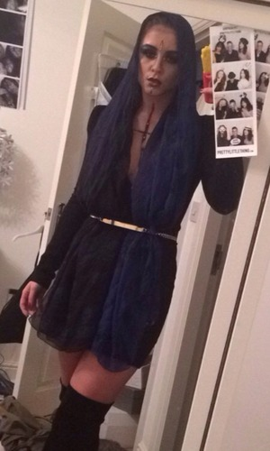 Brooke Vincent Blog: Brooke dresses up for Halloween 4 November