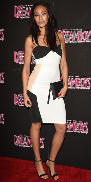 Rachel Christie attends The Dreamboys calendar launch, London 3 November