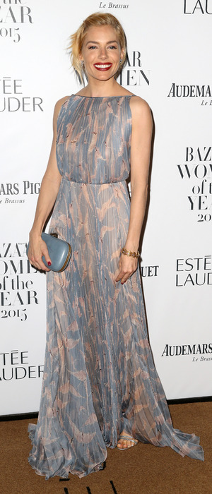 Sienna Miller at the Harpers Bazaar Women of The Year Awards in London, 4th November 2015