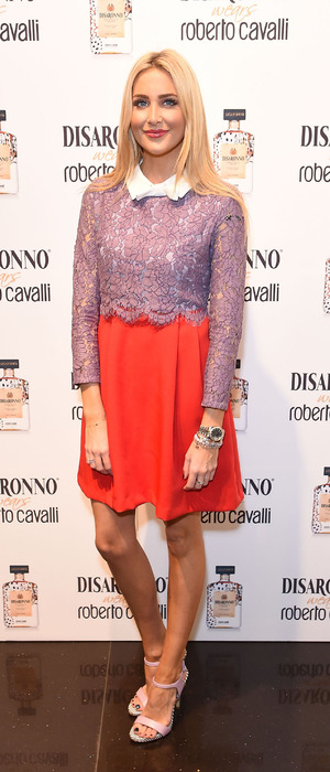 Made in Chelsea's Stephanie Pratt attends Disaronno Wears Cavalli launch party in London 5th November 2015