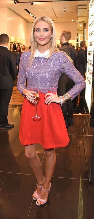 MIC's Stephanie Pratt attends Disaronno Wears Cavalli launch party in London 5th November 2015