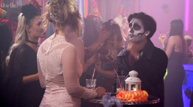 TOWIE episode to air 1 November 2015 Liam and Ferne row