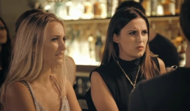 Lucy Watson and Tiffany Watson confront Sam Thompson about cheating rumours, Made In Chelsea 2 November