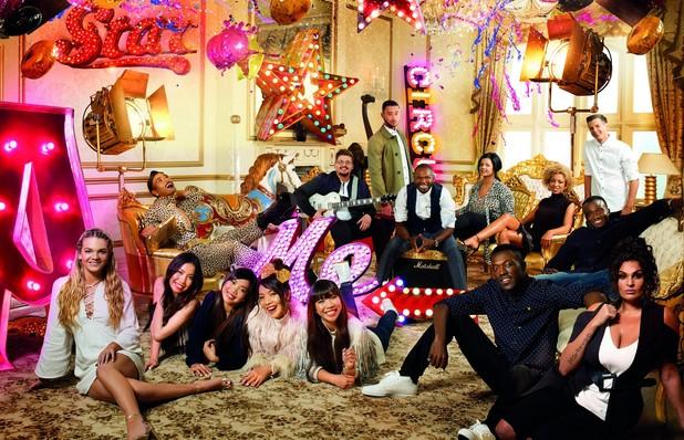 X Factor Very.co.uk photo shoot - group photo - 3 November 2015.