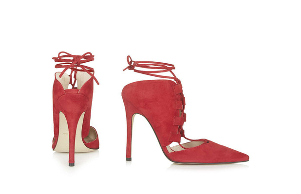 Topshop Gillian Ghillie Court Shoes £69, 4th November 2015