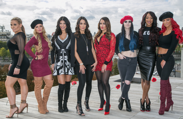 Total Divas attend photocall in Paris for season five 8 October
