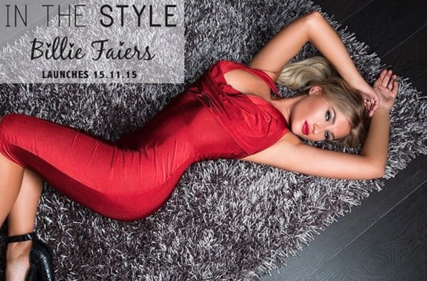 Billie Faiers, TOWIE, announces collaboration with In The Style, 5th November 2015