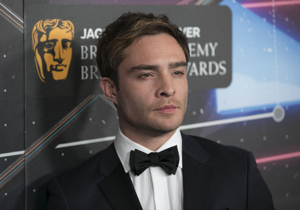 Ed Westwick at the 2015 Jaguar Land Rover British Academy Britannia Awards Presented by American Airlines. 30 October 2015.