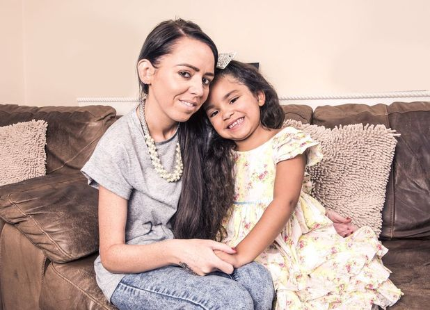 Danielle Claydon refused to let CF get in the way of her chance to be a mum