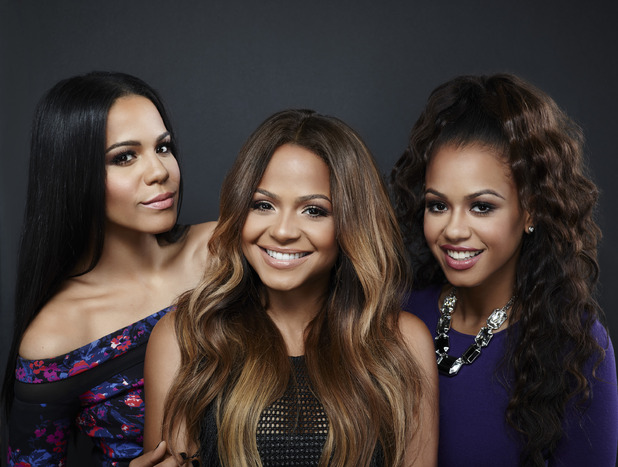 Christina Milian poses with her three sisters ahead of second reality TVA series, Christina Milian Turned Up, 6th November 2015