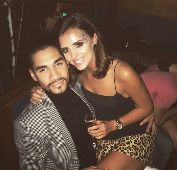 Lucy Mecklenburgh and Louis Smith reunite after a month apart, Glasgow 1 November