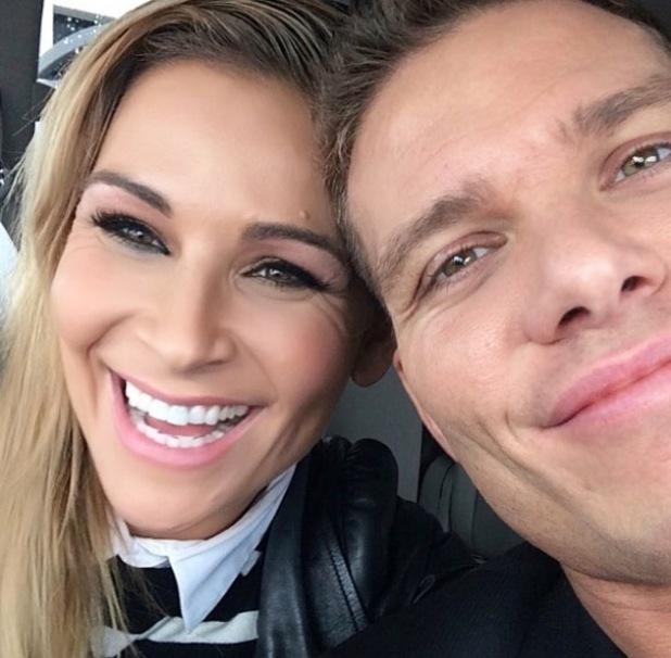 Nattie Neidhart and her husband TJ, Instagram 2 November