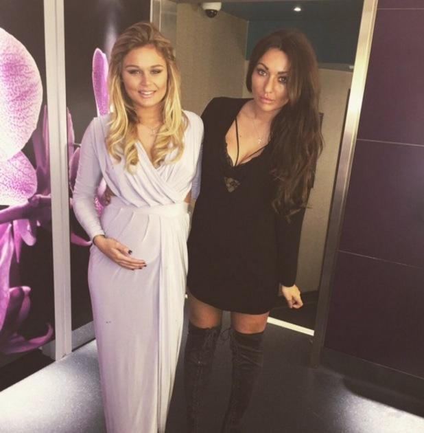 Pregnant Life On Marbs star Alex Weaver and Jordan Sargeant at the Dreamboys Calendar Launch, London 3 November