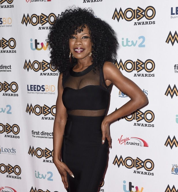 Bupsi at the MOBO Awards 2015. 11/04/2015