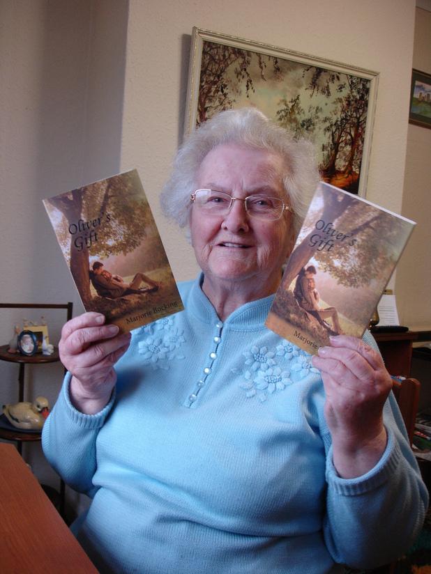 Marjorie Bocking has written her first novel at 87