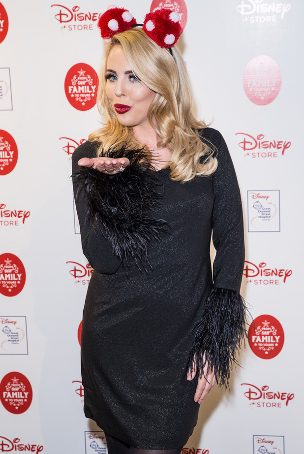 Lydia Bright attends Disney 'From Our Family to Yours' Christmas Party, London, Britain - 03 Nov 2015