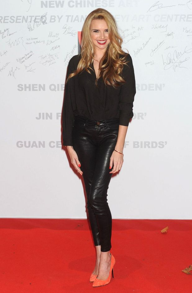Nadine Coyle at the New Chinese Art exhibition, Saatchi Gallery, London, Britain - 05 Nov 2015.