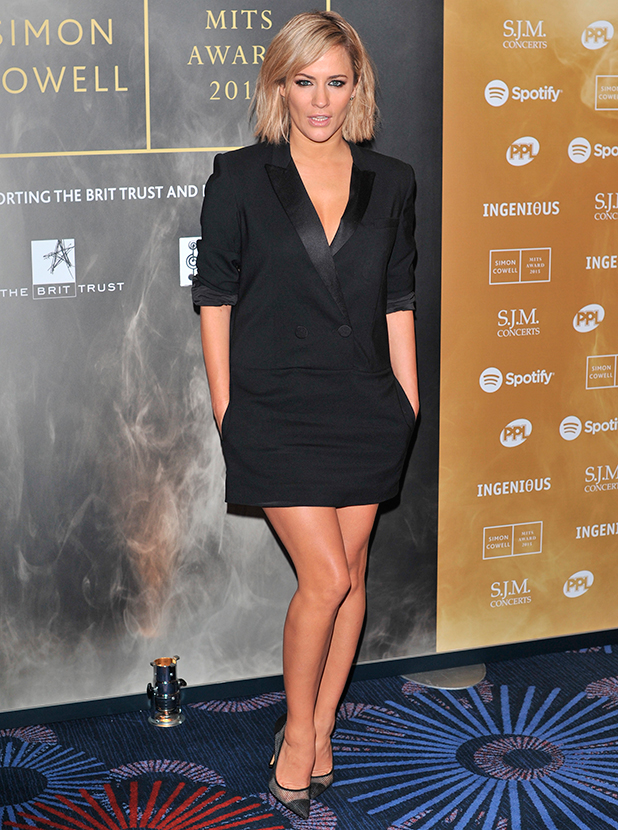 Music Industry Trusts Award in aid of Nordoff Robbins and the BRIT Trust held at the Grosvenor House. Caroline Flack