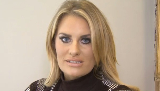 TOWIE's Danielle talks to official website about Lockie date 4 Nov 2015