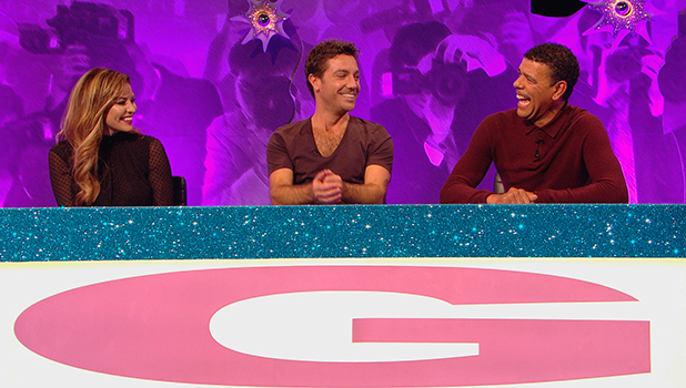 Celebrity Juice: Jess Wright on Gino's team, to air 5 Nov 2015