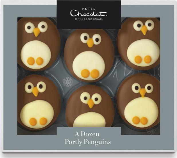 Hotel Chocolat's Portly Penguins, £7.