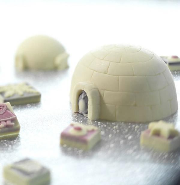 Chocolate Igloo and Penguin, Lakeland