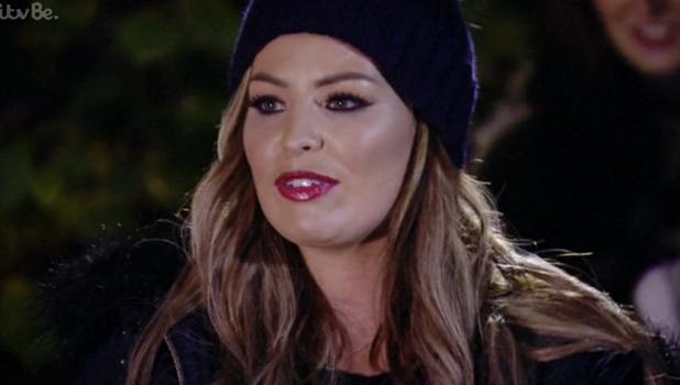 TOWIE's Jess talks about Pete at bonfire, 4 Nov 2015