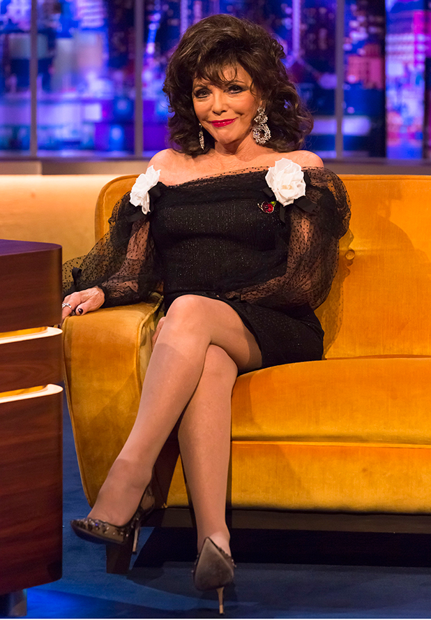 On this week's episode of The Jonathan Ross Show, Jonathan is joined by screen icon, Dame Joan Collins, award winning actor, Danny DeVito and acting starlet, Sheridan Smith.
